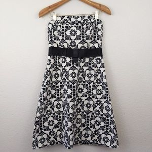 Lilly Pulitzer Jacquard strapless bow dress 4